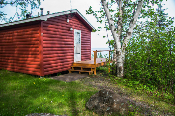 Book breezy point studio cabin duluth minnesota all cabins for Lake cabins for rent in massachusetts