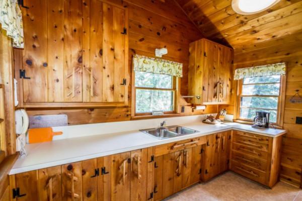Minnie Me Cabin - Kitchen