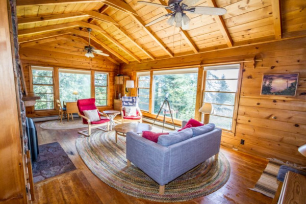 Minnie Me Cabin - Living Room