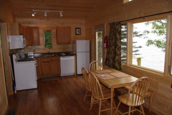 Cabin 4 Kitchen - fully stocked!
