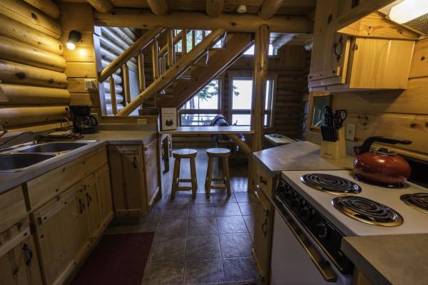 Stonegate Cabin Kitchen