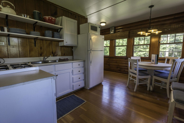 Stonegate Cabin 3 Kitchen - fully stocked