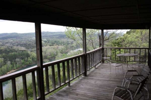 Cedar Ridge Cabin Deck