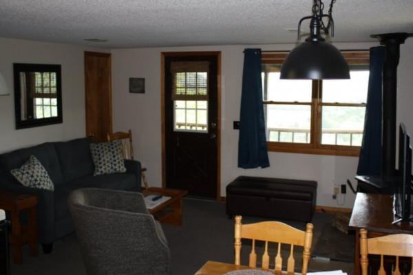 Cedar Ridge Cabin Living Room