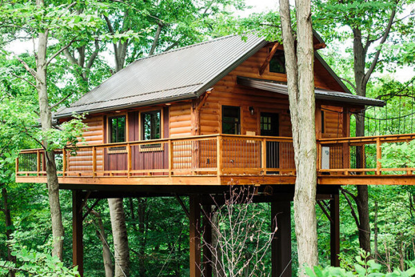 Book amish country treehouse 5 amish country ohio all for Cabins amish country ohio