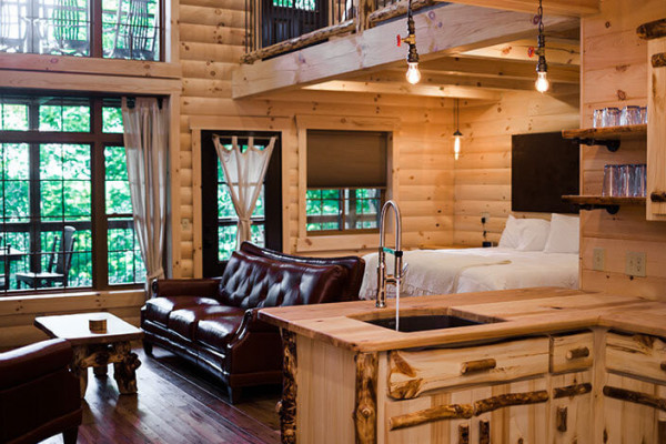 book amish treehouse 3 amish country ohio all cabins. Black Bedroom Furniture Sets. Home Design Ideas