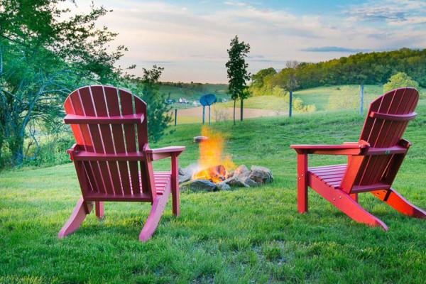 Briarwood Cabin - Firepit