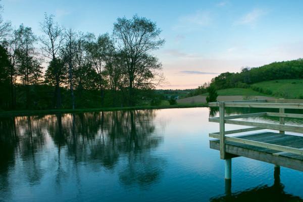 Briarwood Cabin - Fishing Pond