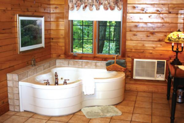 Rosewood Cabin - Bathrooom