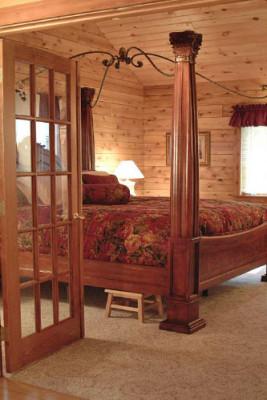 Rosewood Cabin Bedroom