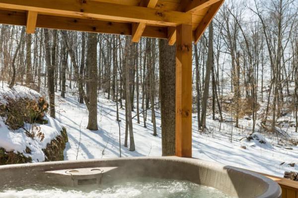 Lazy Days Cabin Hot Tub