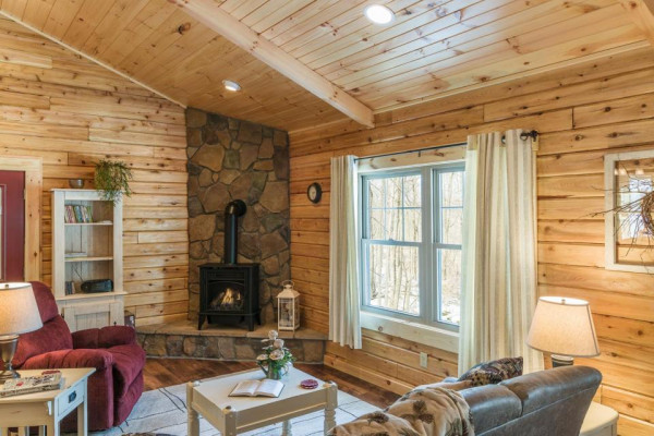 Lazy Days Cabin Living Room