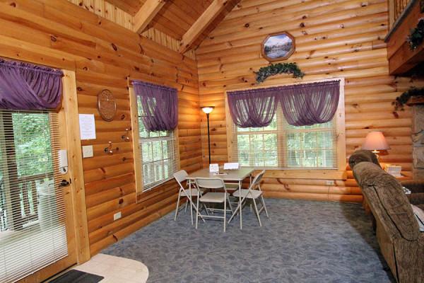 Book Tulip Poplar Cabin Amish Country Ohio All Cabins