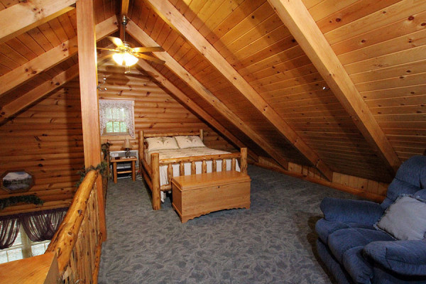 Tulip Poplar Cabin Lofted Sleeping