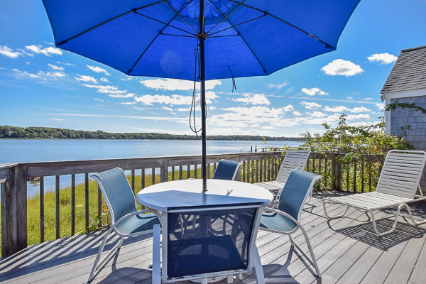 Top Sail Cottage - Outdoor Seating