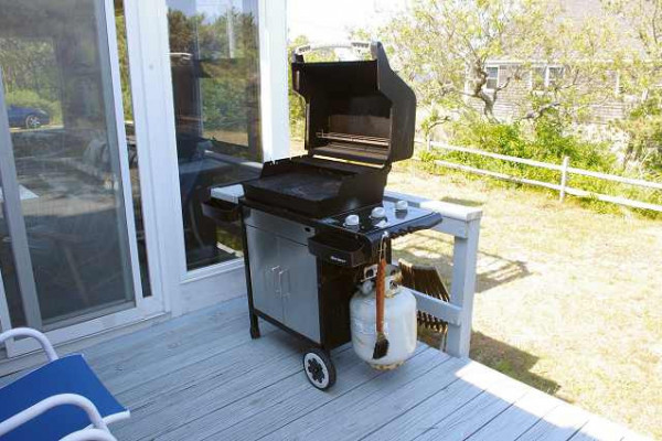 Carpe Diem Cottage Deck with Grill