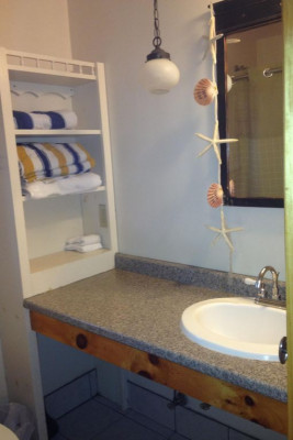 Cabin 12 Bathroom