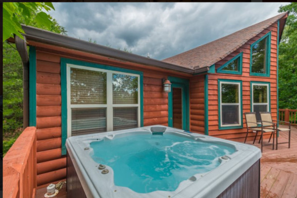 Alpine - Sweet - Deck and Hot Tub