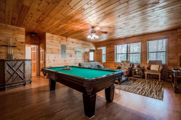 Elation Cabin - Game Room