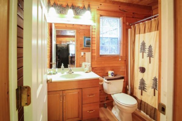Bear's Den Bathroom