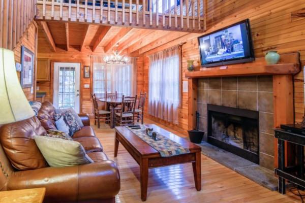 Bear's Den Living Room