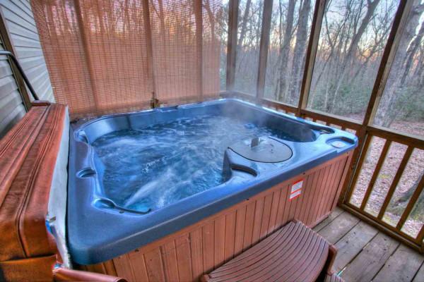 Moose Hollow - Hot Tub