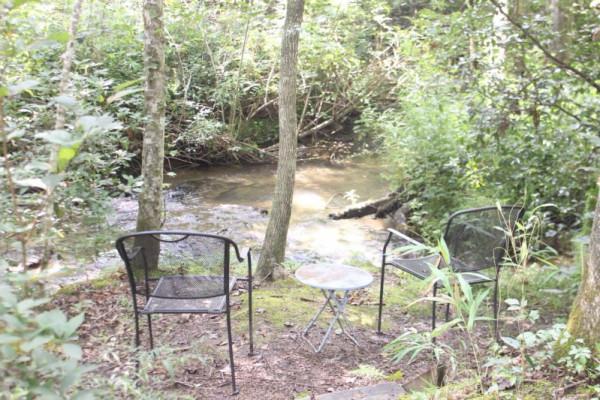 Mauldin Creek Cabin Creek access