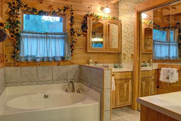 River Haus  Master Bathroom