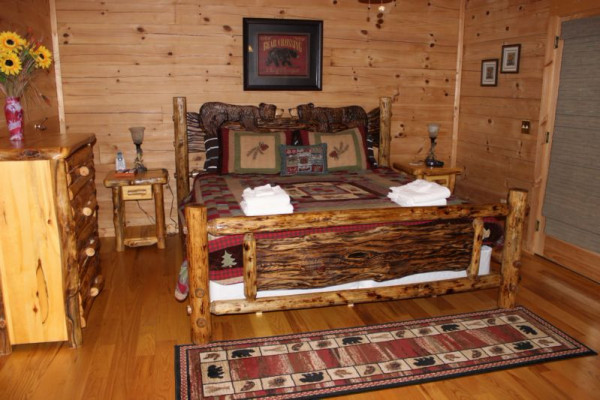 River Haus  Master Bedroom