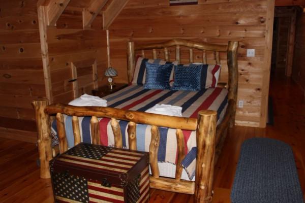 River Haus  Upstairs Bedroom