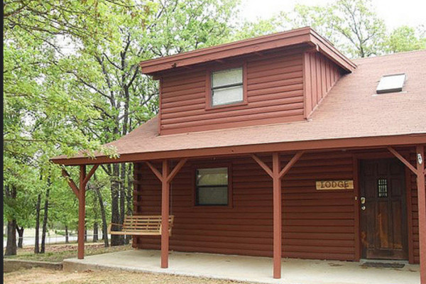 Cabin: The Arbuckle Lodge; The Arbuckle Lodge