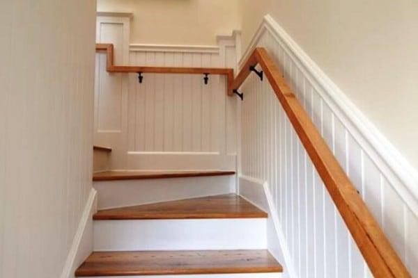 Stairway hardwood
