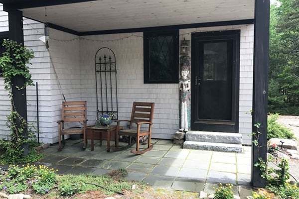 Front Porch and Entryway