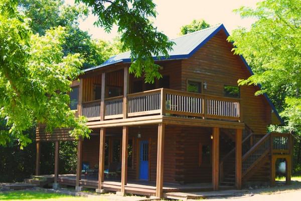 Book River Bend Lodge 2 Turner Falls Oklahoma All Cabins