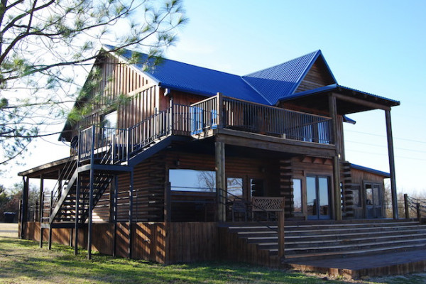 Book river bend lodge 3 turner falls oklahoma all cabins for Falls lake cabin rentals