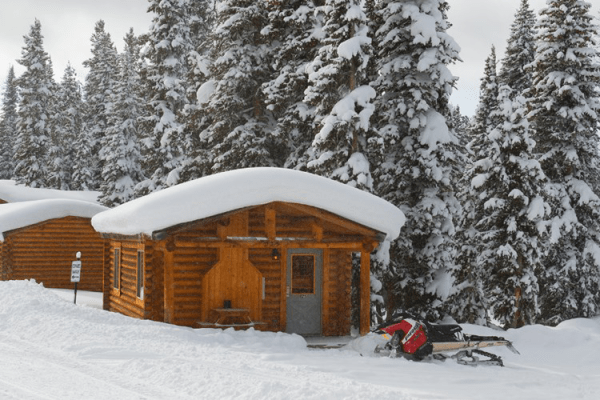 Cabin in the Winter