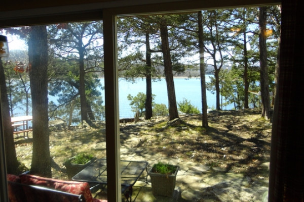 Lake View from the cottage