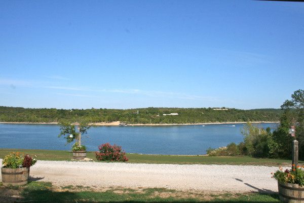 View of lake from cabin 1