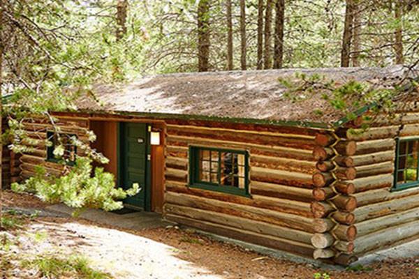 Colter Bay Cabin Exterior