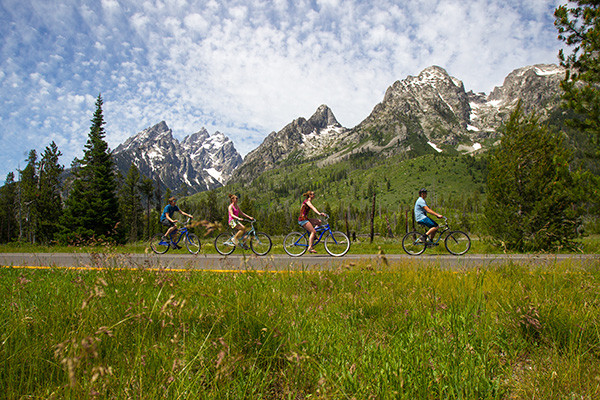 Grand Teton National Park Biking