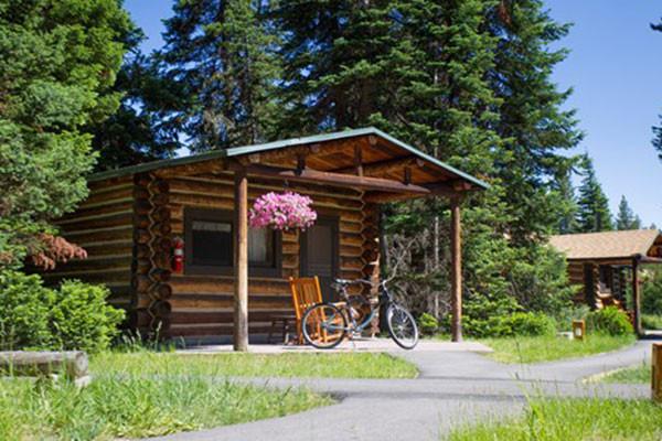 Jenny Lake Cabin Exterior