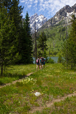 Jenny Lake Hiking - Grand Teton National Park