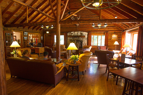 Jenny Lake Lodge Lobby