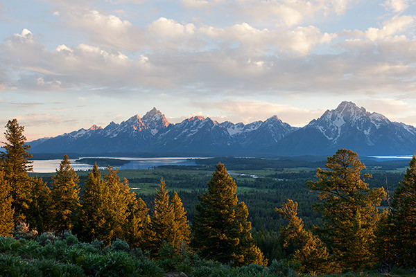 Views from Jackson Lake Lodge - Grand Teton National Park