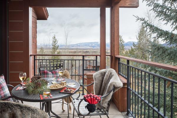 Deck - Moose Creek - Ski In/Ski Out Luxury Cabin Teton Village