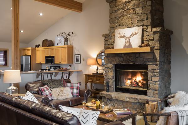 Great Room - Moose Creek - Slopeside Luxury Cabin Teton Village