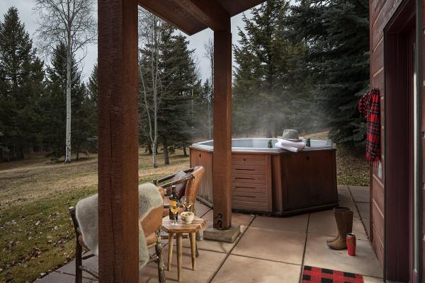 Hot Tub - Moose Creek - Slopeside Luxury Cabin Teton Village