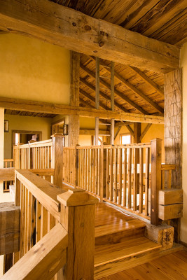 Open loft and stairs