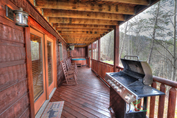Hot Tub, Porch, Grill and View