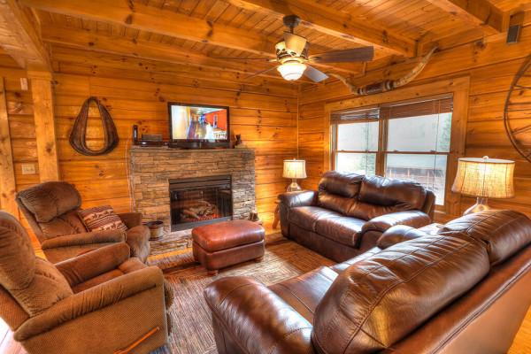 Warm living area